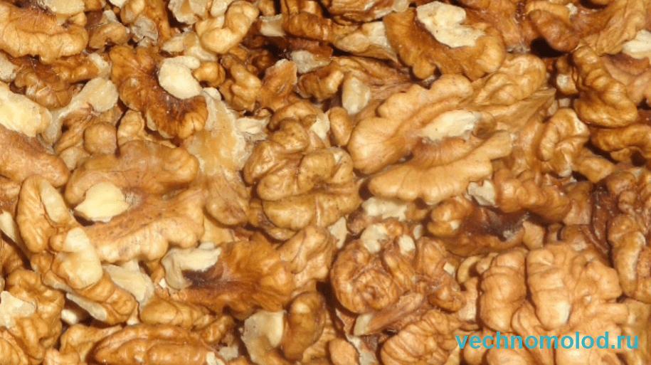 Орехи питание для мозга