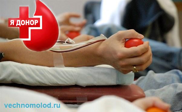 Донорство крови польза и вред