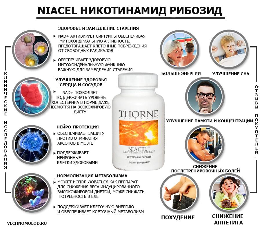 Никотинамид рибозид преимущества для здоровья